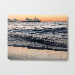 Washed away memories Metal Print