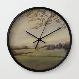 Blissful Meadow Wall Clock