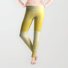 Four Shades of Yellow Leggings