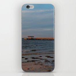 Bokeelia Pier at Sunset iPhone Skin