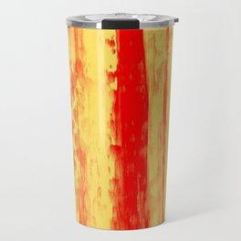 Gerhard Richter Inspired Abstract Urban Rain 3 Travel Mug
