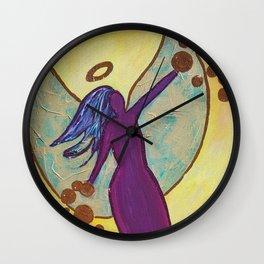 an Angel's Love Wall Clock