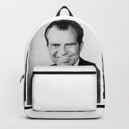 Portrait of Richard Nixon Backpack