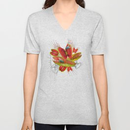 Beautiful And Deadly Unisex V-Neck