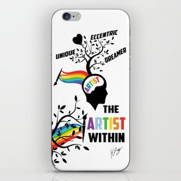The Artist Within iPhone Skin