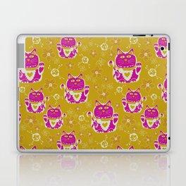 Oriental happy lucky cats Laptop & iPad Skin
