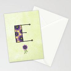 E e Stationery Cards