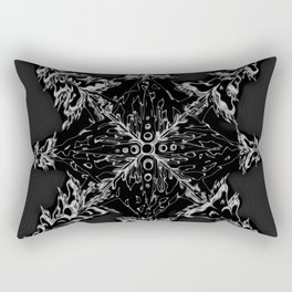 Mountain Dreamin' Mandala: Solar Edition Rectangular Pillow