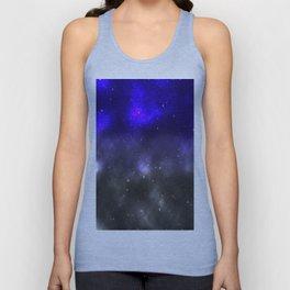 Blues Galaxy Unisex Tank Top