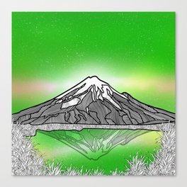 Mount Taranaki New Zealand Canvas Print