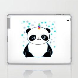 Pandacorn in the Snow Laptop & iPad Skin