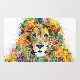 Garden of the Wild ~ LION Rug