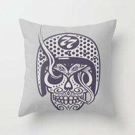 Skull 77 Throw Pillow