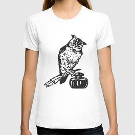 So Wise Black Owl T-shirt