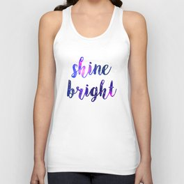 Shine bright Unisex Tank Top