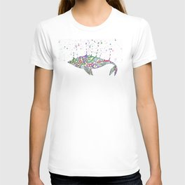 Whale on T-shirt