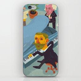 Amundsen's party iPhone Skin