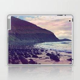 Watercolor Beach Front Laptop & iPad Skin