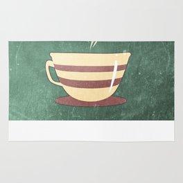 Coffee is love illustration Rug