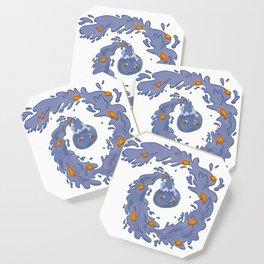 Goldfish Swirl Coaster