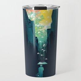I Want My Blue Sky Travel Mug