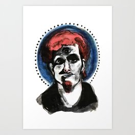 Layne Staley #3 Art Print