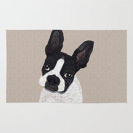 Boston Terrier 2015 Rug