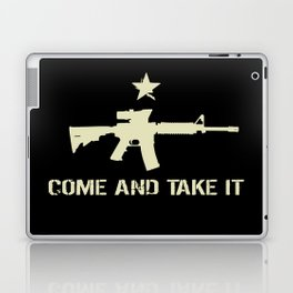 M4 Assault Rifle - Come and Take It Laptop & iPad Skin