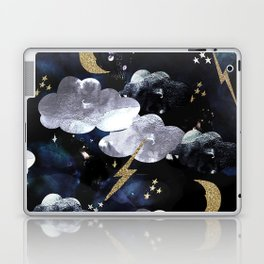 Cosmic lightning Laptop & iPad Skin