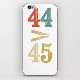 44 > 45 Anti Trump Impeach iPhone Skin