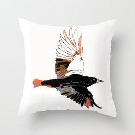 BlackbirdFlies - Ria Loader Throw Pillow