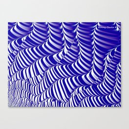 Rolling Stripes Canvas Print