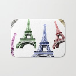 Eiffel Tower Paris Bath Mat