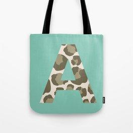 Feline Initial Tote Bag