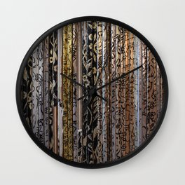 The Tiny Goldenish Picturebooks Wall Clock