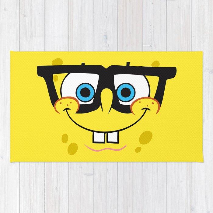 Spongebob Nerd Face Rug