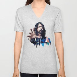 Learn to Fly - Dave Grohl print Unisex V-Neck