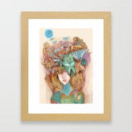 Th Mask Framed Art Print