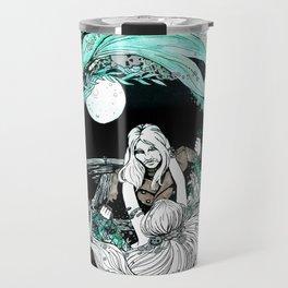 La sirena y el pescador Travel Mug