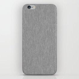 Grey Fibre iPhone Skin