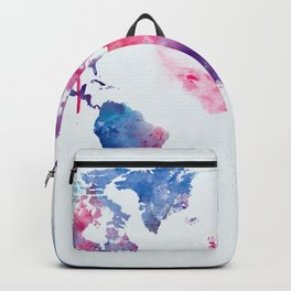 Map of the World Backpack