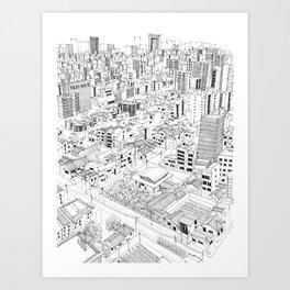 Asakusa, Japan Art Print