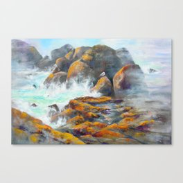 Rocky Edge Canvas Print