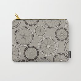 bike wheels stone Carry-All Pouch