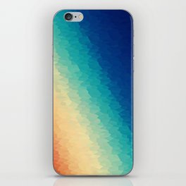 Warm to Cool Texture iPhone Skin