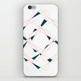 Geometry I iPhone Skin