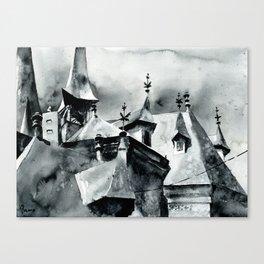 akwarelka 42 Canvas Print