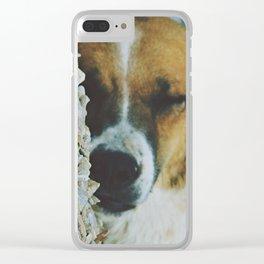 Peaceful Sleep Clear iPhone Case