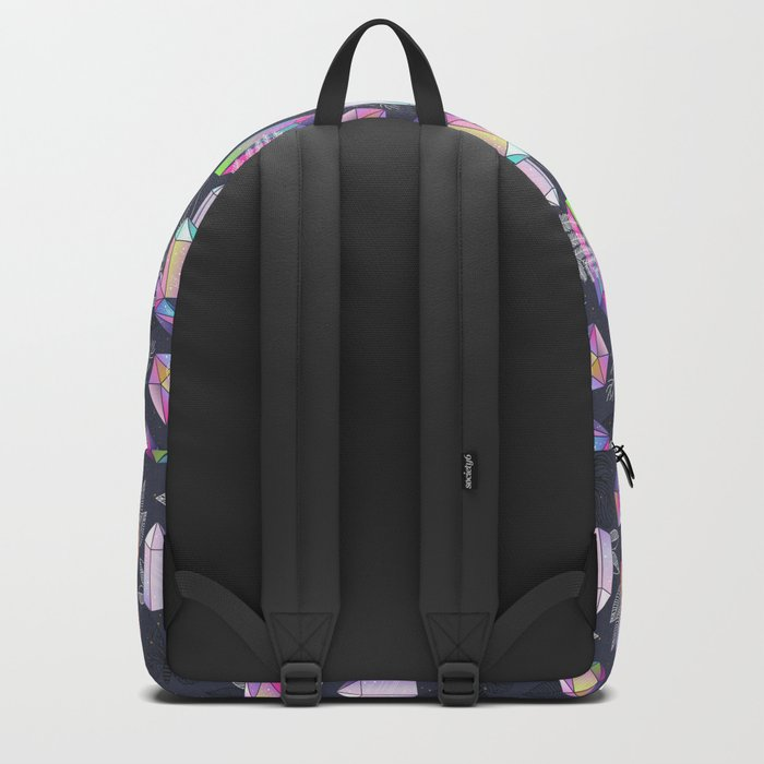 Moths and Crystals Backpack