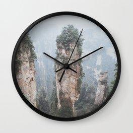Zhangjiejia National Forest Park Wall Clock